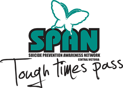 Suicide Prevention Awareness Network SPAN Bendigo & Central Victoria logo
